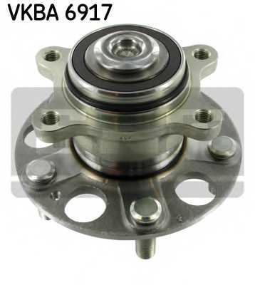 Комплект подшипника ступицы колеса SKF VKBA 6917 - изображение