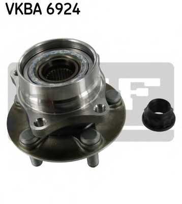 Комплект подшипника ступицы колеса SKF VKBA 6924 - изображение