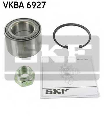 Комплект подшипника ступицы колеса SKF VKBA 6927 - изображение