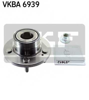 Комплект подшипника ступицы колеса SKF VKBA 6939 - изображение