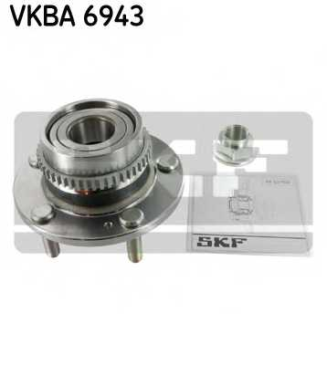 Комплект подшипника ступицы колеса SKF VKBA 6943 - изображение