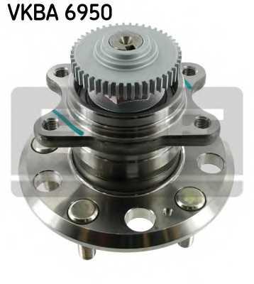 Комплект подшипника ступицы колеса SKF VKBA 6950 - изображение