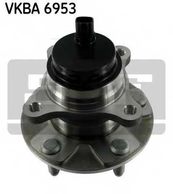 Комплект подшипника ступицы колеса SKF VKBA 6953 - изображение