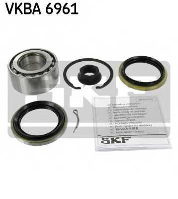 Комплект подшипника ступицы колеса SKF VKBA 6961 - изображение