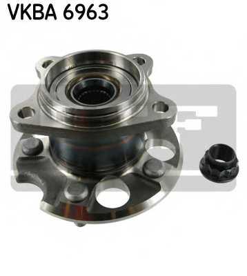Комплект подшипника ступицы колеса SKF VKBA 6963 - изображение