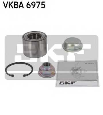 Комплект подшипника ступицы колеса SKF VKBA 6975 - изображение