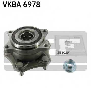 Комплект подшипника ступицы колеса SKF VKBA 6978 - изображение
