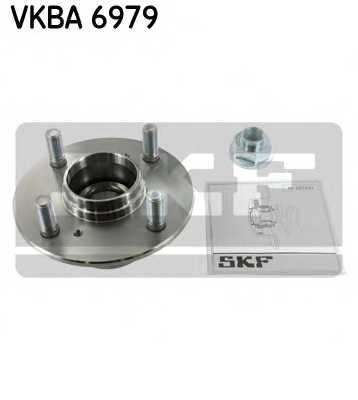 Комплект подшипника ступицы колеса SKF VKBA 6979 - изображение