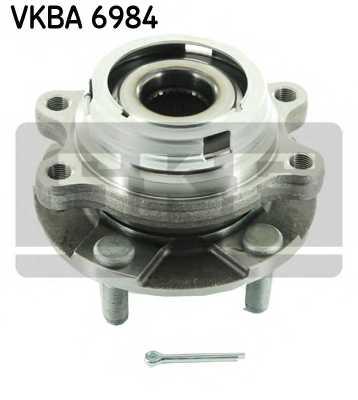 Комплект подшипника ступицы колеса SKF VKBA 6984 - изображение