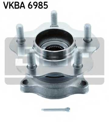 Комплект подшипника ступицы колеса SKF VKBA 6985 - изображение