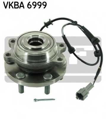 Комплект подшипника ступицы колеса SKF VKBA 6999 - изображение