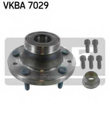 Комплект подшипника ступицы колеса SKF VKBA 7029 - изображение