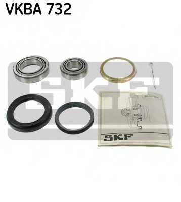 Комплект подшипника ступицы колеса SKF VKBA 732 - изображение