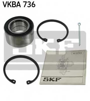 Комплект подшипника ступицы колеса SKF VKBA736 - изображение