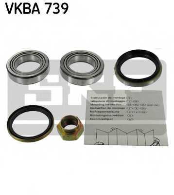 Комплект подшипника ступицы колеса SKF VKBA 739 - изображение
