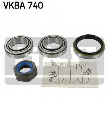 Комплект подшипника ступицы колеса SKF VKBA740 - изображение