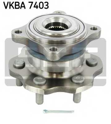 Комплект подшипника ступицы колеса SKF VKBA 7403 - изображение