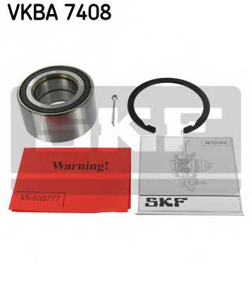 Комплект подшипника ступицы колеса SKF VKBA 7408 - изображение