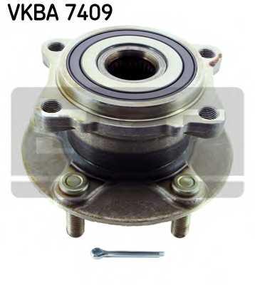 Комплект подшипника ступицы колеса SKF VKBA 7409 - изображение