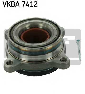 Комплект подшипника ступицы колеса SKF VKBA 7412 - изображение