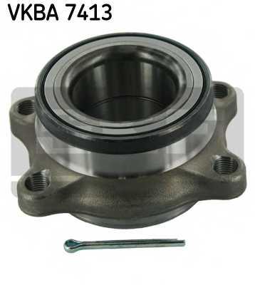 Комплект подшипника ступицы колеса SKF VKBA 7413 - изображение