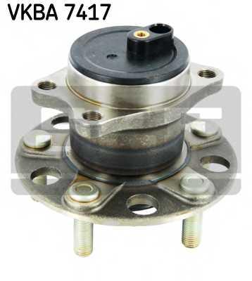 Комплект подшипника ступицы колеса SKF VKBA 7417 - изображение