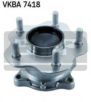 Комплект подшипника ступицы колеса SKF VKBA 7418 - изображение