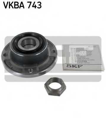 Комплект подшипника ступицы колеса SKF VKBA 743 - изображение