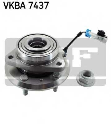 Комплект подшипника ступицы колеса SKF VKBA 7437 - изображение