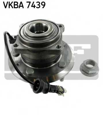 Комплект подшипника ступицы колеса SKF VKBA 7439 - изображение