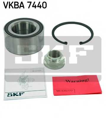 Комплект подшипника ступицы колеса SKF VKBA 7440 - изображение