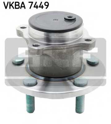 Комплект подшипника ступицы колеса SKF VKBA 7449 - изображение