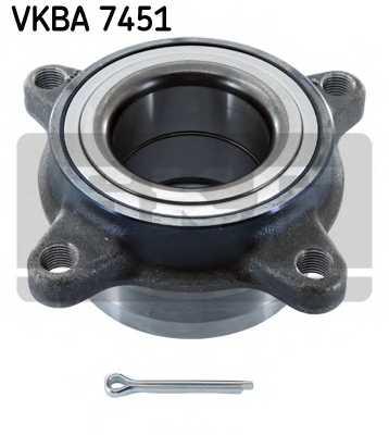 Комплект подшипника ступицы колеса SKF VKBA 7451 - изображение