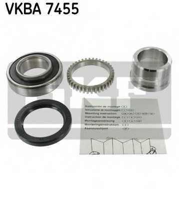 Комплект подшипника ступицы колеса SKF VKBA 7455 - изображение
