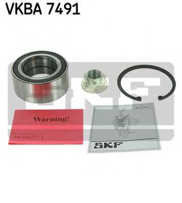 Комплект подшипника ступицы колеса SKF VKBA 7491 - изображение