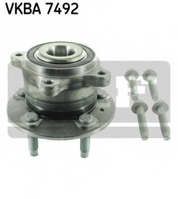 Комплект подшипника ступицы колеса SKF VKBA7492 - изображение