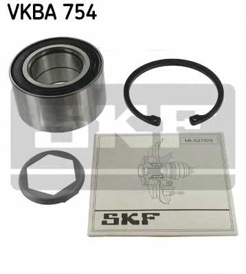 Комплект подшипника ступицы колеса SKF VKBA 754 - изображение