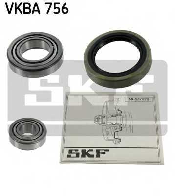 Комплект подшипника ступицы колеса SKF VKBA 756 - изображение