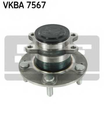 Комплект подшипника ступицы колеса SKF VKBA 7567 - изображение