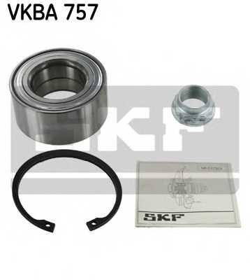 Комплект подшипника ступицы колеса SKF VKBA 757 - изображение