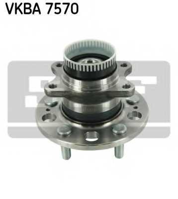Комплект подшипника ступицы колеса SKF VKBA 7570 - изображение