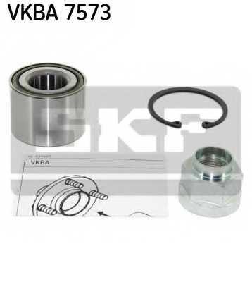 Комплект подшипника ступицы колеса SKF VKBA 7573 - изображение