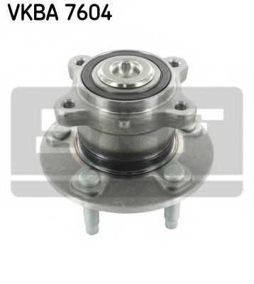Комплект подшипника ступицы колеса SKF VKBA 7604 - изображение