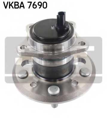 Комплект подшипника ступицы колеса SKF VKBA 7690 - изображение