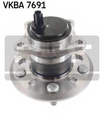 Комплект подшипника ступицы колеса SKF VKBA 7691 - изображение