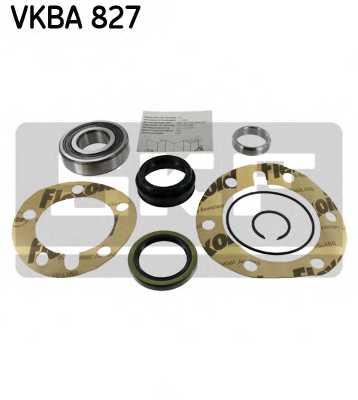 Комплект подшипника ступицы колеса SKF VKBA 827 - изображение