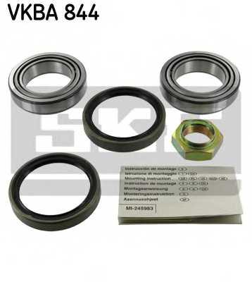 Комплект подшипника ступицы колеса SKF VKBA 844 - изображение