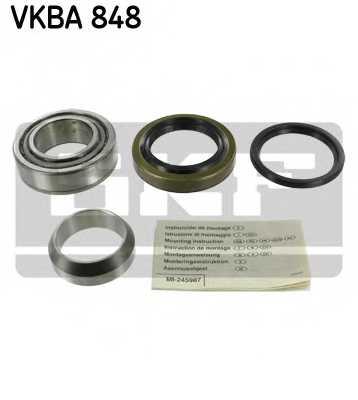 Комплект подшипника ступицы колеса SKF VKBA 848 - изображение