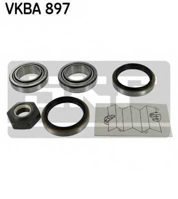 Комплект подшипника ступицы колеса SKF VKBA897 - изображение