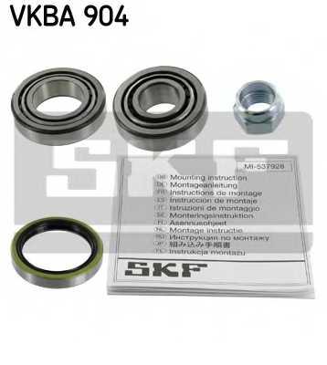Комплект подшипника ступицы колеса SKF VKBA 904 - изображение